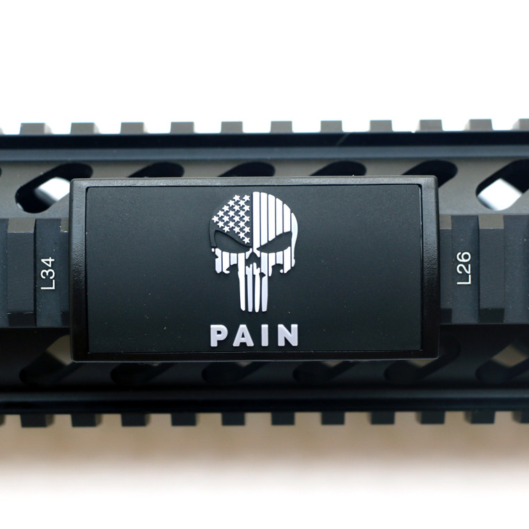 PAIN PVC Picatinny Rail Cover- Black