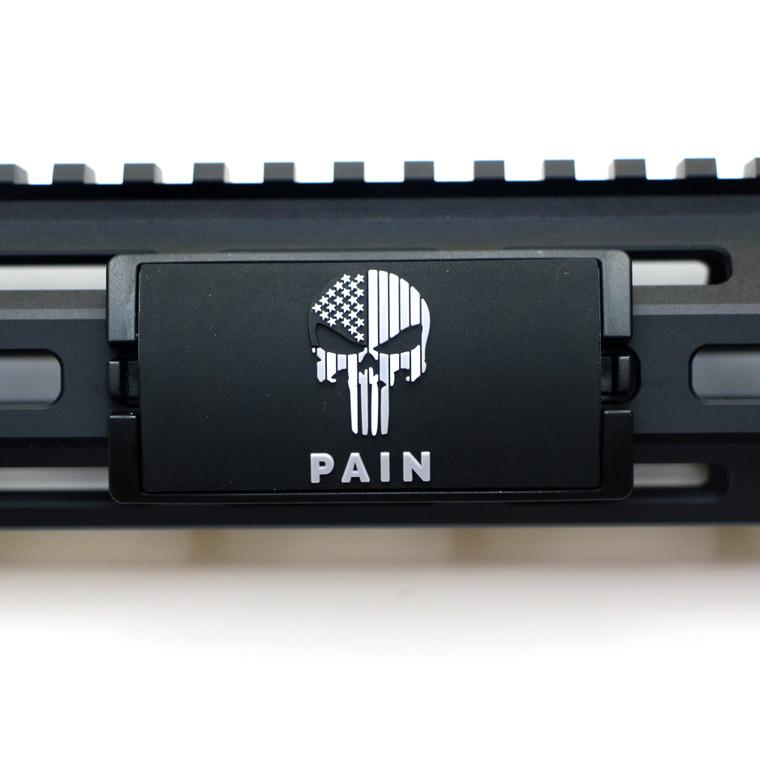 PAIN PVC KeyLok Rail Cover- Black Retainer