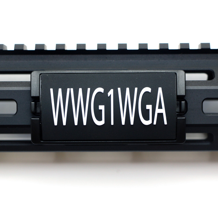 WWG1WGA PVC KeyLok Rail Cover- Black Retainer