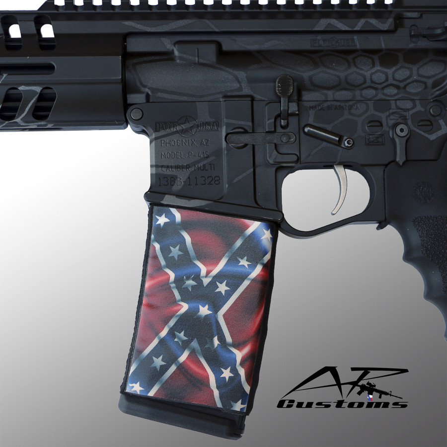 Wavy Confederate Flag Soc