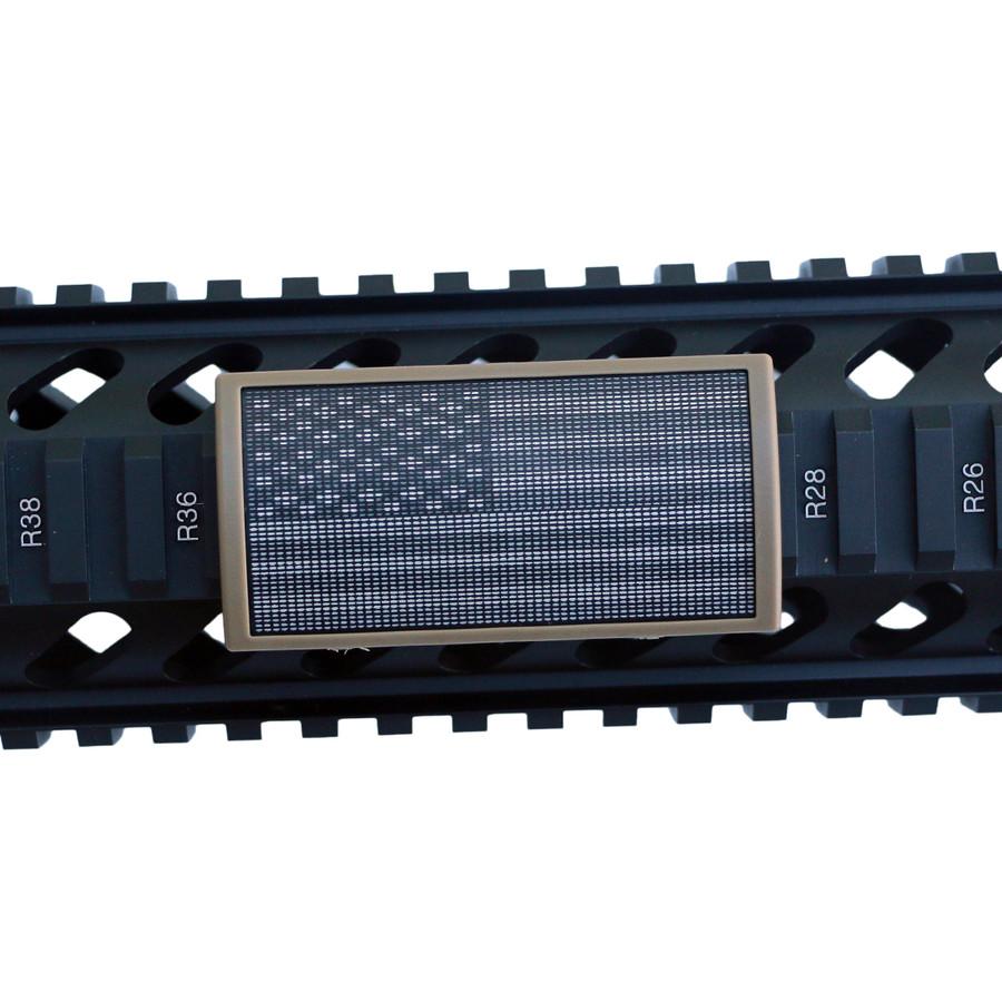 9-11 MEMORIAL FLAG STARS LEFT