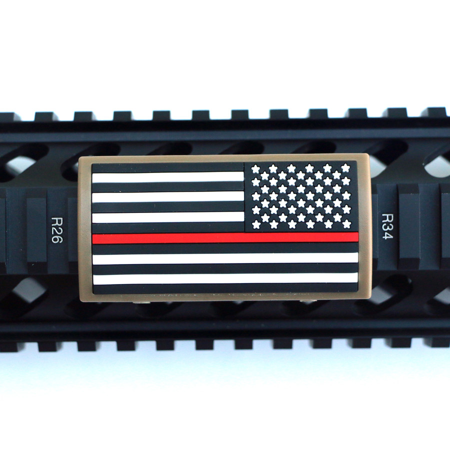 Red Line Flag Stars Right Picatinny - FDE Retainer