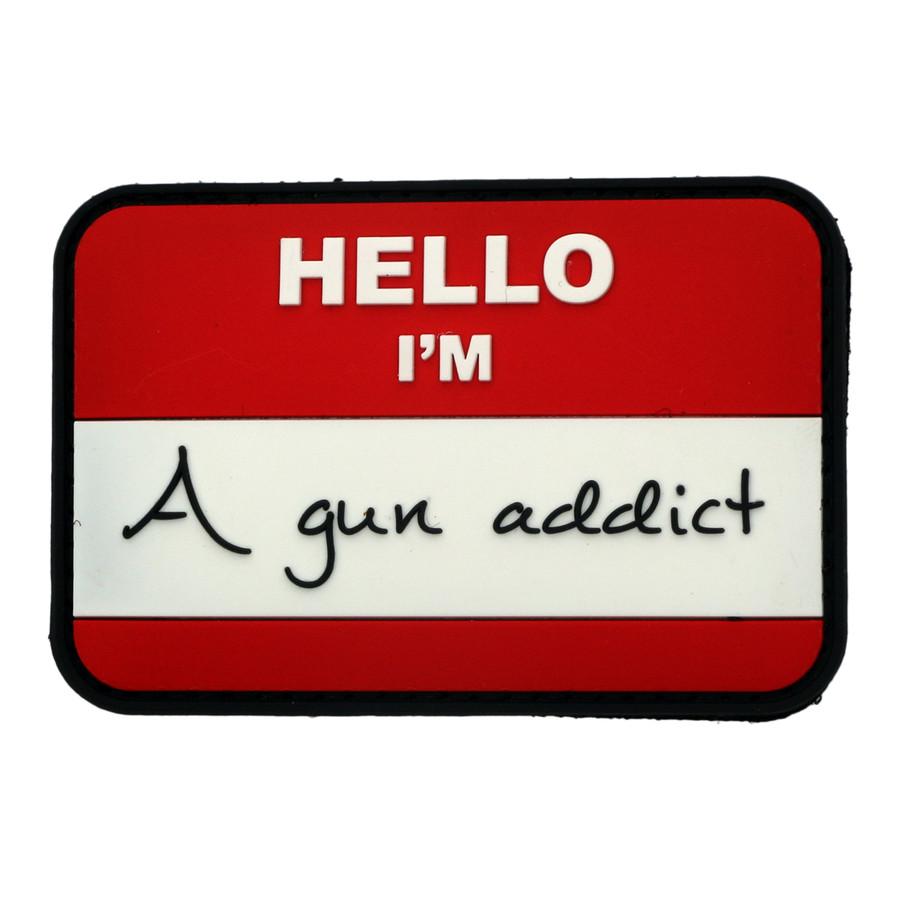 Gun Addict PVC Patch