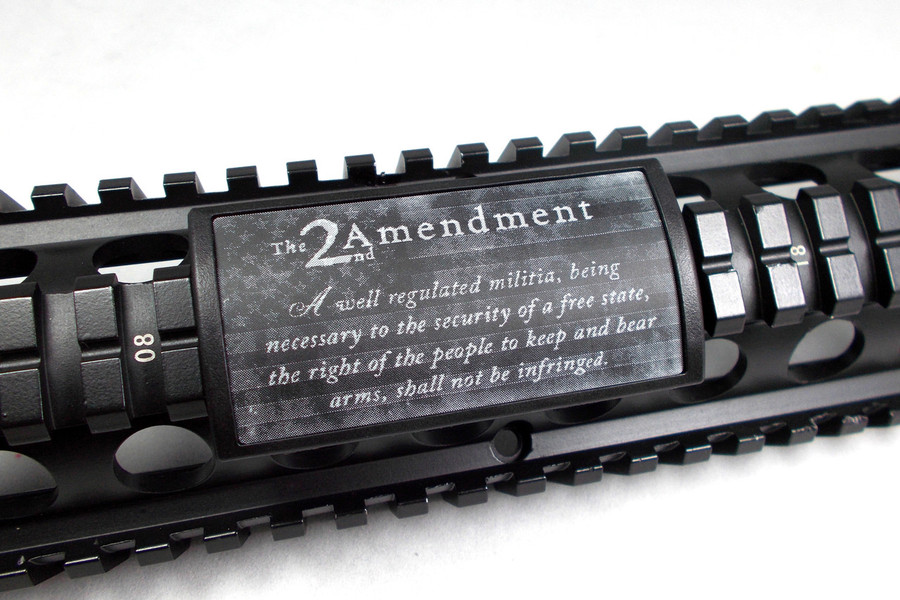 SECOND AMENDMENT W/ US FLAG