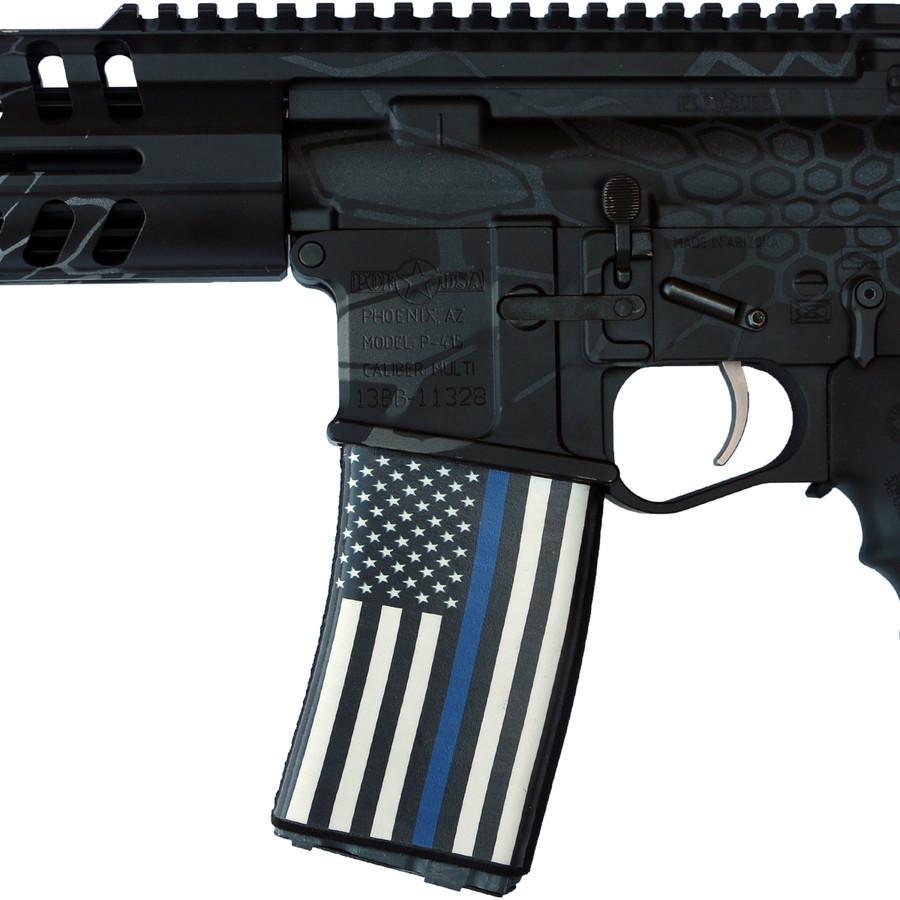 Blue Line Flag Soc