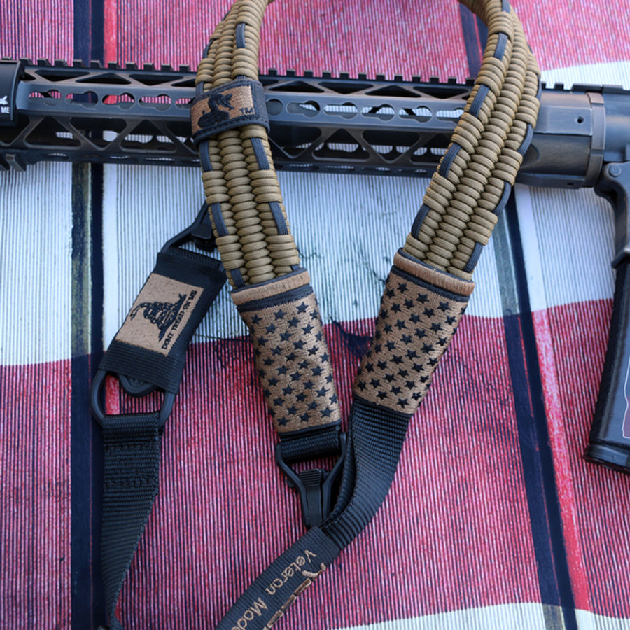 FDE / Black Subdued US Flag Sling
