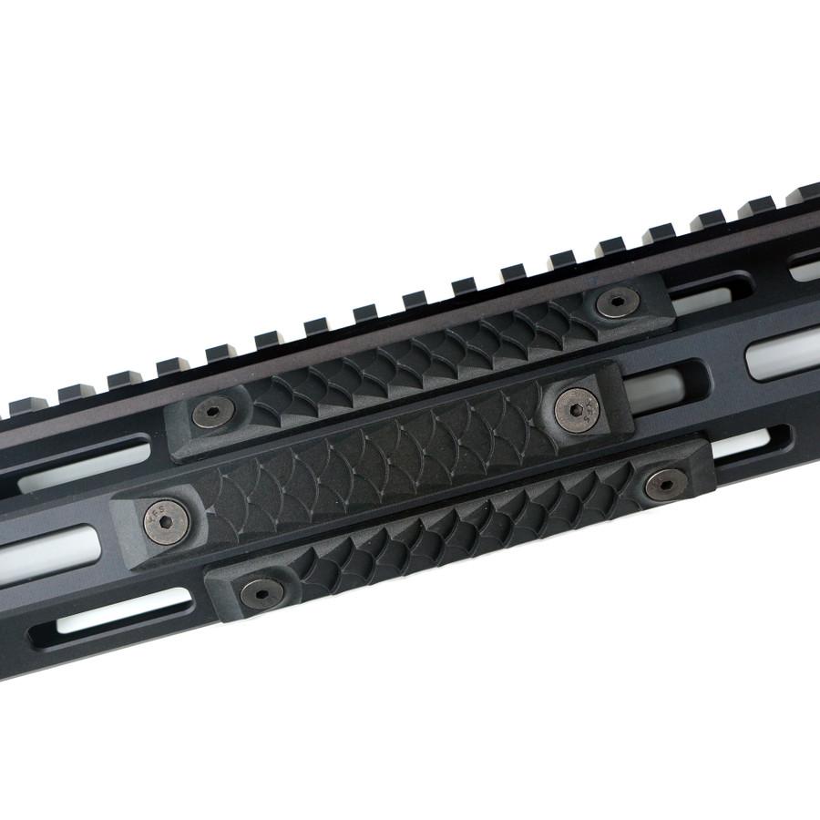 High Temp Polymer Dragon MLOK Black - 3 Pack