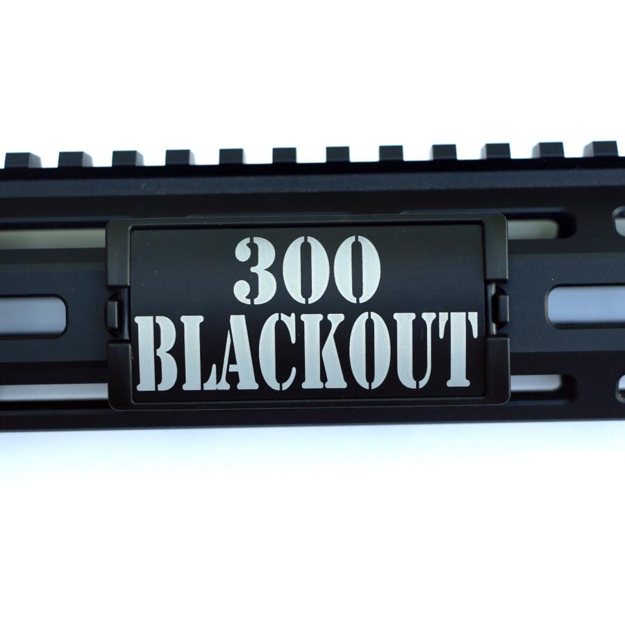 300 Blackout KeyLok Rail Cover- Black Retainer