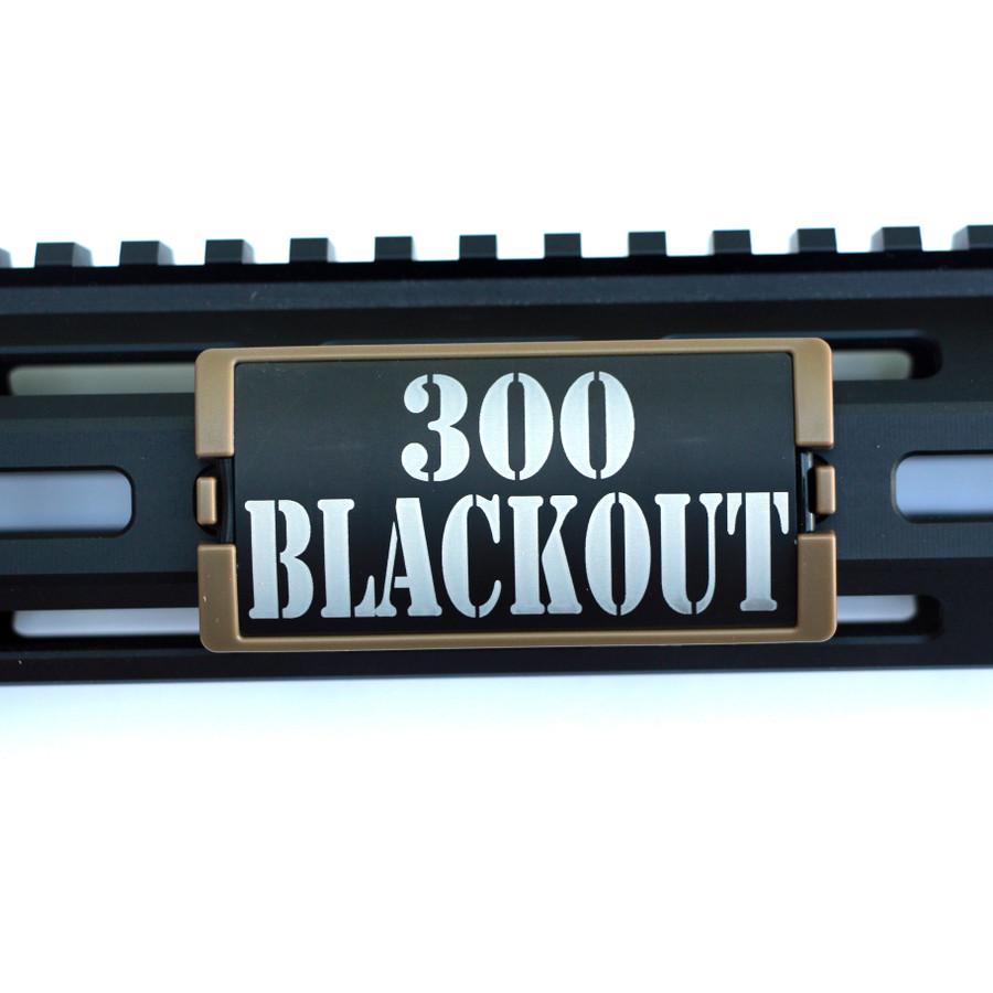 300 Blackout KeyLok Rail Cover- FDE Retainer