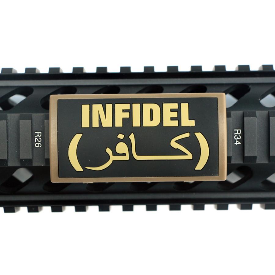 Infidel PVC Picatinny Rail Cover- FDE Retainer