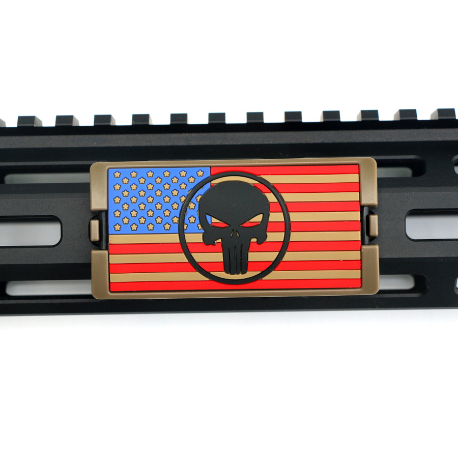 The End Is Nigh Stars Left PVC KeyLok Rail Cover-FDE Retainer