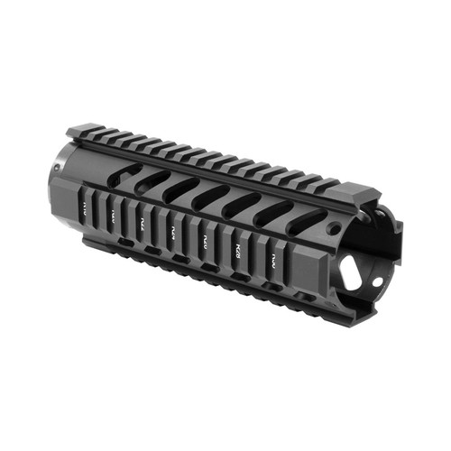 AR FREE FLOAT CARBINE LENGTH QUAD RAIL/V3