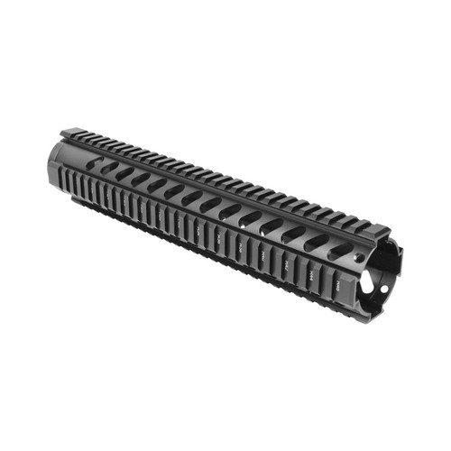 AR FREE FLOAT RIFLE LENGTH QUAD RAIL/V3