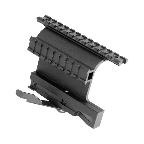 AK DOUBLE SIDE RAIL MOUNT/PICATINNY W/QUICK RELEASE LEVER