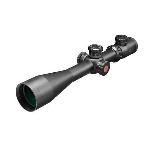 4-16X50 DUAL ILL. RIFLE SCOPE W/SIDE PARALLEX/MIL-DOT