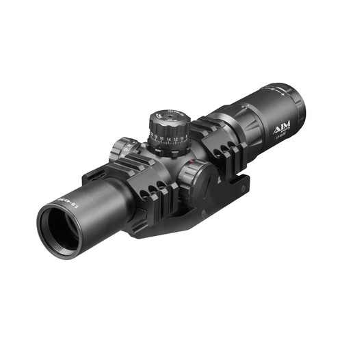 1.5-4X30 TRI ILL. CQB SCOPE WITH LOCKING TURRETS/MIL-DOT