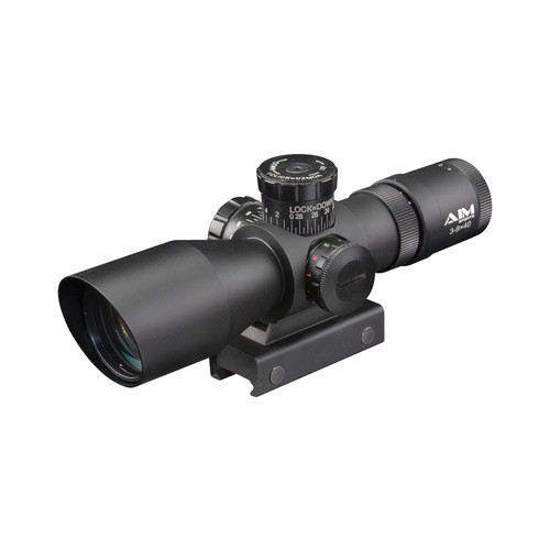 3-9X40 DUAL ILL. SCOPE W/MIL-DOT RETICLE