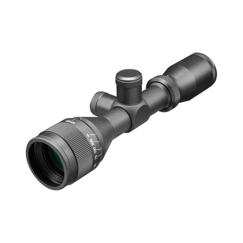 3-9X40 A.O. SCOPE/RINGS W/P4- SNIPER RETICLE
