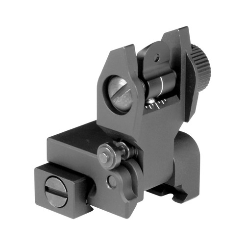 AR LOW PROFILE REAR FLIP UP SIGHT