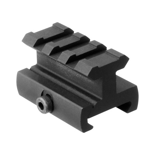 "3/4"" HIGH, 1.6"" LONG RISER MOUNT/MEDIUM PROFILE"