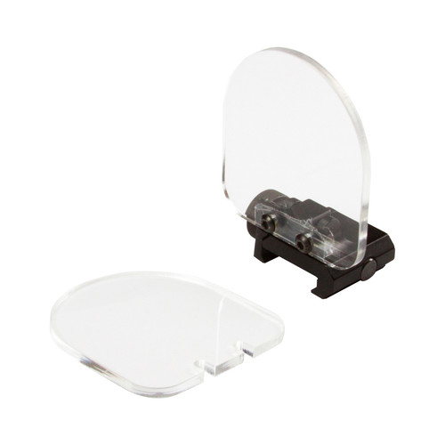 CLEAR LENS PROTECTOR FOR TACTICAL SCOPE/RED DOT