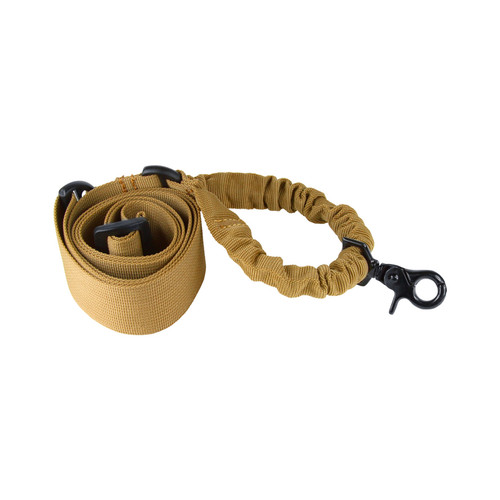 ONE POINT BUNGEE RIFLE SLING/TAN