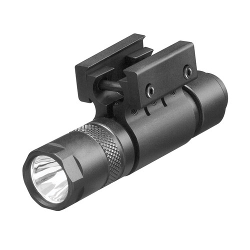 FLASHLIGHT 200 LUMENS W/ PICATINNY MOUNT AND TAPE SWITCH