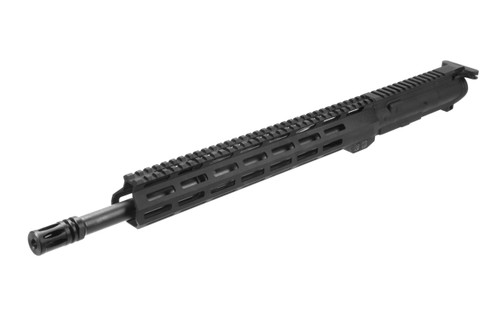"Semi-Complete AR 13.5"" M-LOK  Upper California Compliant (w/ Muzzle Break Instead of Flashhider)"