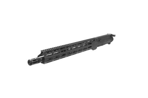 "Semi-Complete AR15 15"" M-LOK Upper California Compliant (w/ Muzzle Break Instead of Flashhider)"