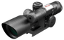 2.5-10X40 DUAL ILL. TACTICAL SCOPE W/GREEN LASER & MIL-DOT