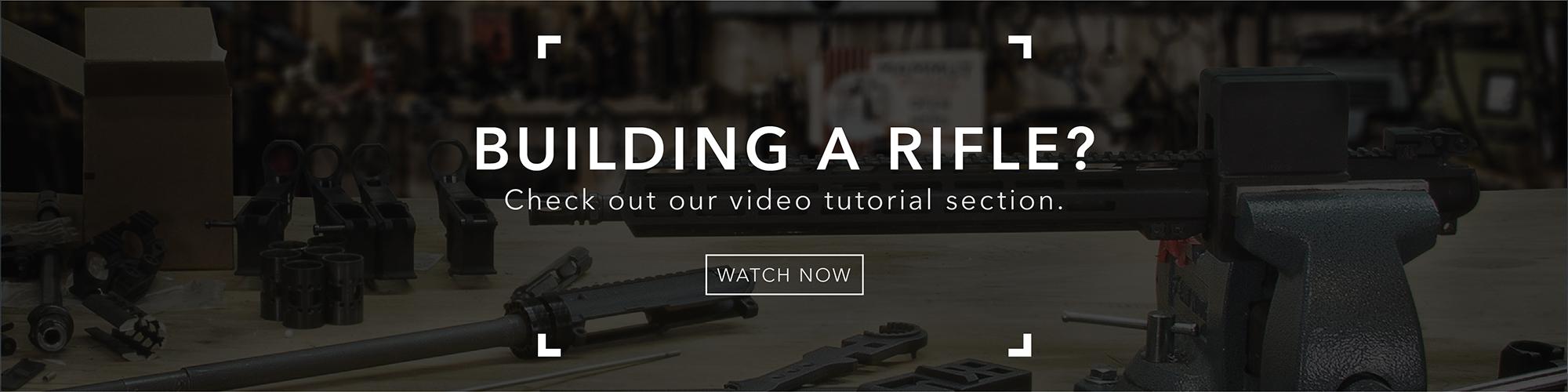 build a rifle video tutorial banner