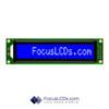 16x1 STN Character LCD C161CLBSBLW6WN55XAA