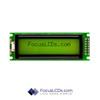16x2 STN Character LCD C162FLBSYLY6WT55PAB