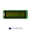 16x2 STN Character LCD C162FLBSYLY6WT55PAB