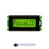 8x1 STN Character LCD C81BXBSYSY6WT55XAA