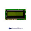 8x1 STN Character LCD C81CLBSYLY6WT55XAA