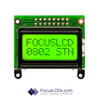8x2 STN Character LCD C82AXBSYLY6WT55XAA