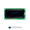 8x1 FSTN Character LCD C81CLBFKSW6WN33XAB