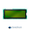 20x4 STN Character LCD C204DXBSYLY6WT55XAB