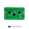 20x4 FSTN Character LCD C204ADBFGSW6WT55PAB