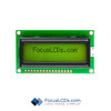 16x2 STN Character LCD C162EXBSYLY6WT