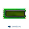 16x2 STN Character LCD C162DXBSYLY6WT