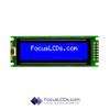 16x2 STN Character LCD C162BLBSBSW6WN33PAB