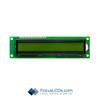 16x1 STN Character LCD C161BLBSYSY6WTC3XAA