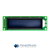 20x2 STN Character LCD C202BLBSBSW6WN55XAB
