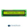 16x1 STN Character LCD C161B-YTY-LW65