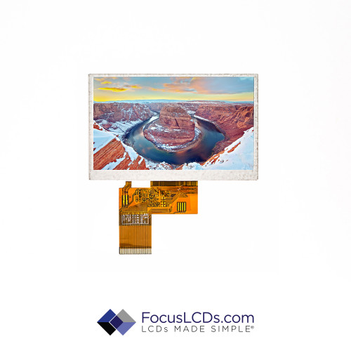 4.3 TFT Display No TP E43RG34827LW2M320-N