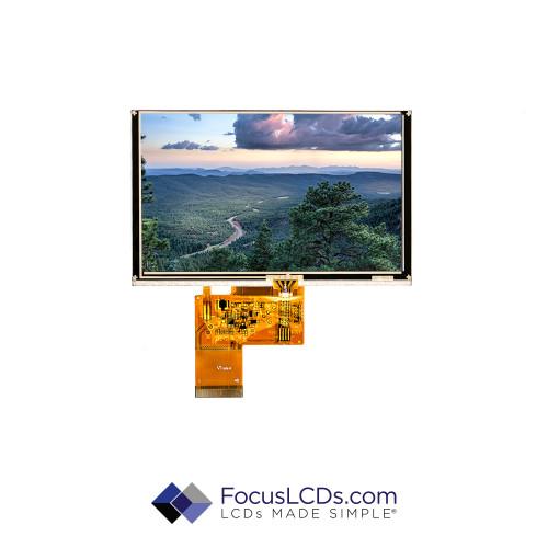 5.0 TFT Display Resistive TP E50RG38048LW2M320-R