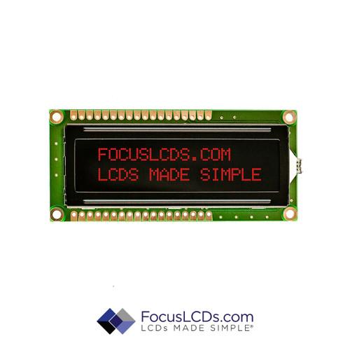 16x2 RGB Character LCD C162ALBFGS16WN55PAB