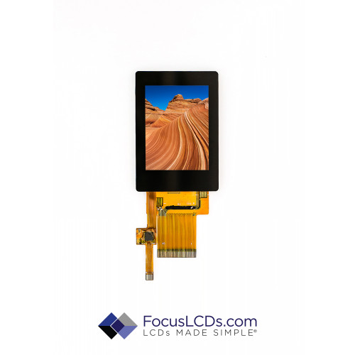 2.4 TFT Display Capacitive TP E24RG12432LWIM800-C